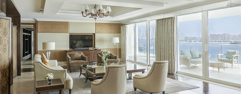 Hotel Waldorf Astoria Dubai Palm Jumeirah, EAU - Soggiorno della Suite Presidenziale