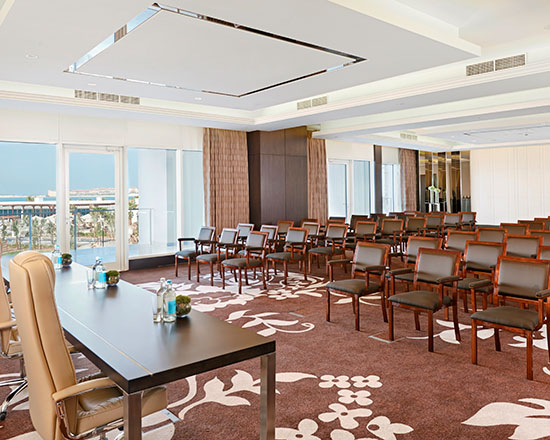 Waldorf Astoria Dubai Palm Jumeirah, Förenade Arabemiraten – Större möten
