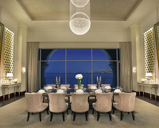 Waldorf Astoria Dubai Palm Jumeirah -hotelli, Yhdistyneet arabiemiirikunnat – pienet kokoukset