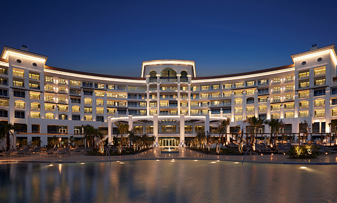 Waldorf Astoria Dubai Palm Jumeirah, Förenade Arabemiraten – Hotellets fasad