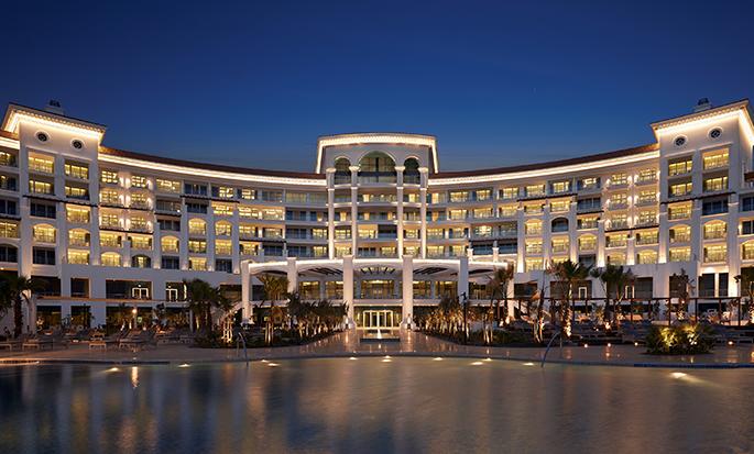 Waldorf Astoria Dubai Palm Jumeirah, VAE - Buitenkant hotel