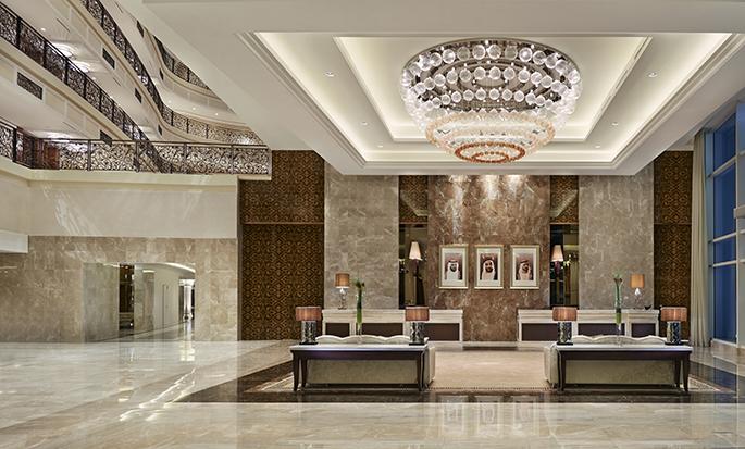 Waldorf Astoria Dubai Palm Jumeirah -hotelli, Yhdistyneet arabiemiirikunnat – aula
