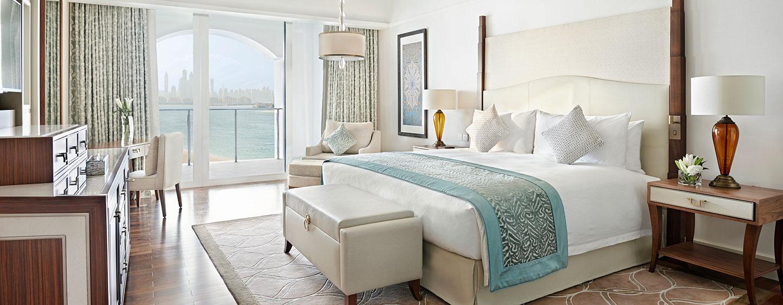 Waldorf Astoria Dubai Palm Jumeirah -hotelli, Yhdistyneet arabiemiirikunnat – parivuoteellinen Deluxe-huone