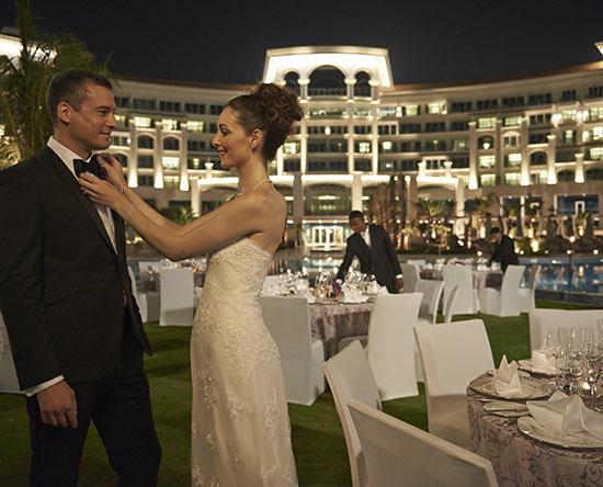 Waldorf Astoria Dubai Palm Jumeirah, Yhdistyneet arabiemiirikunnat - Suunnittele hääsi