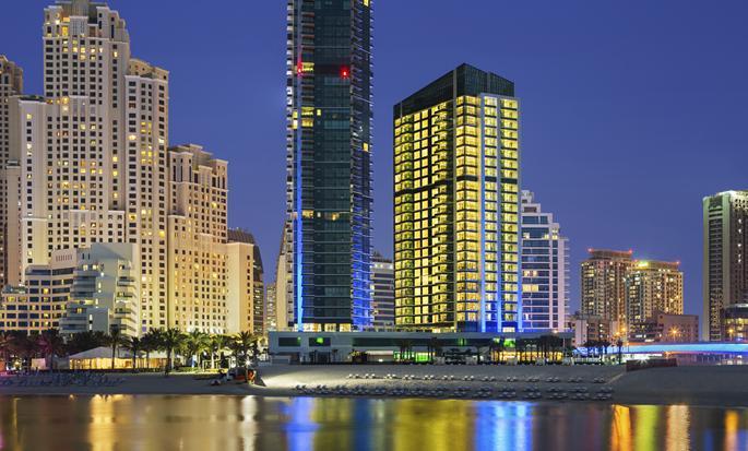 DoubleTree by Hilton Hotel Dubai Jumeirah Beach, Dubai, VAE - Buitenkant hotel