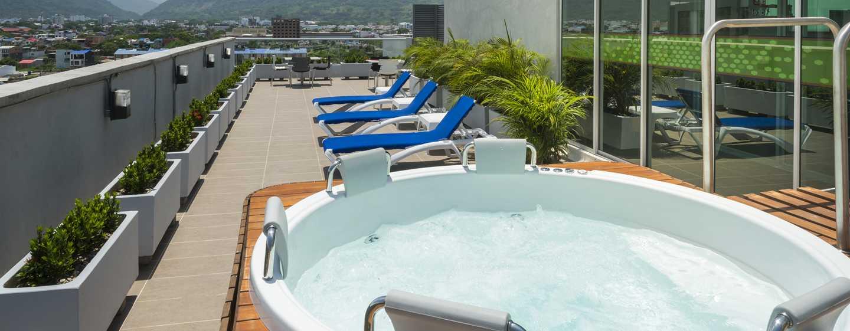 Hotel Hampton by Hilton Yopal, Colombia - Terraza en la última planta