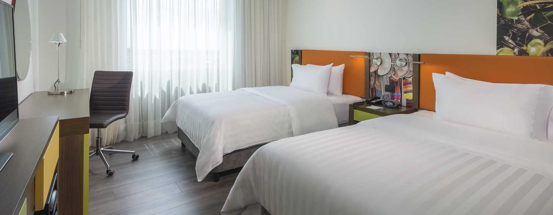 Hotel Hampton by Hilton Yopal, Colombia - Habitación con dos camas dobles