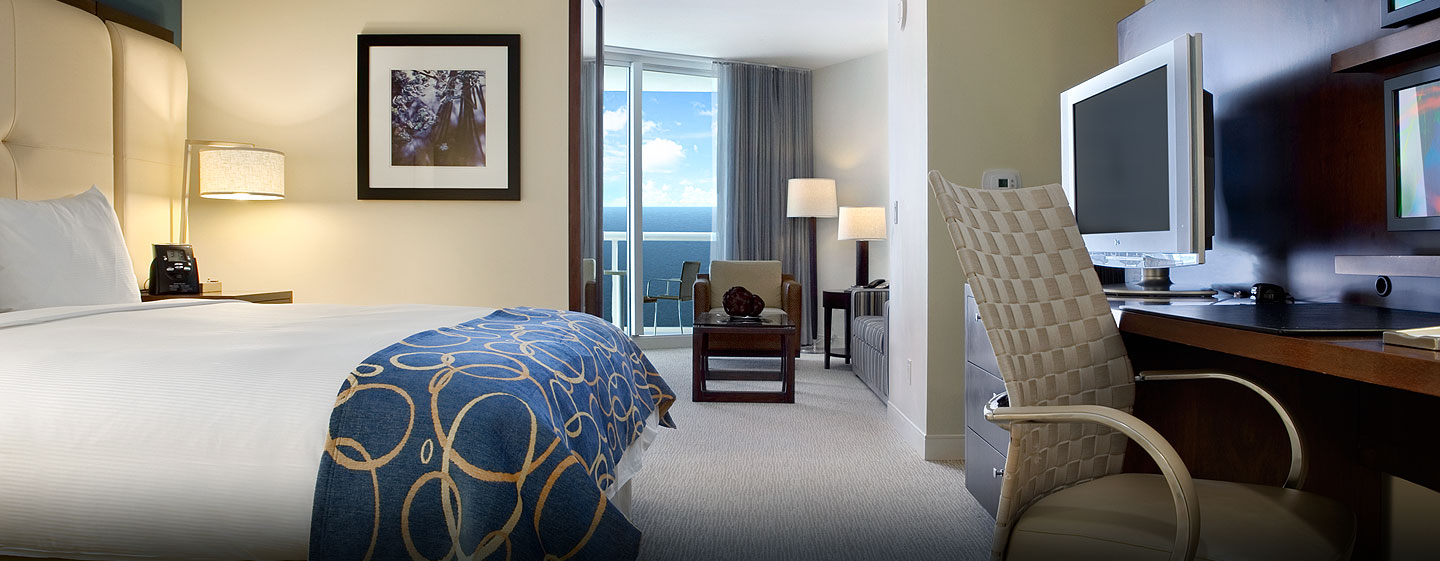 Hotel Hilton Fort Lauderdale Beach Resort, FL - Suite junior con cama King