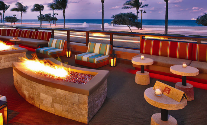 Hotel Hilton Fort Lauderdale Beach Resort, FL - Restaurante