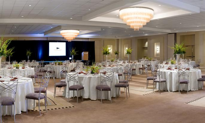 Hilton Fort Lauderdale Marina, USA - Balsal