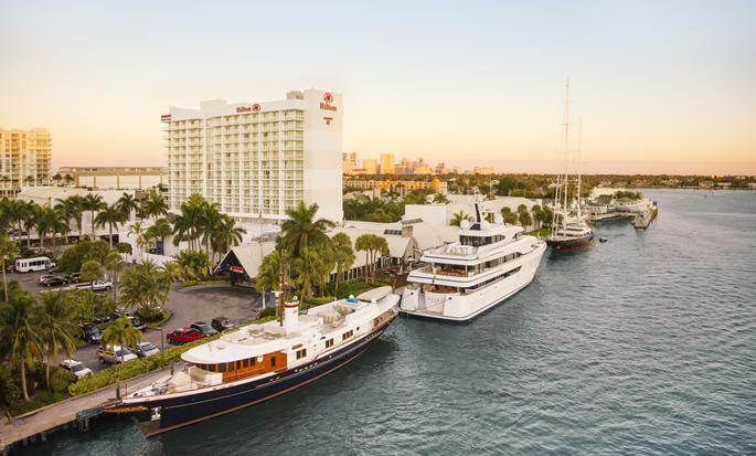 Hilton Fort Lauderdale Marina, USA - Ytre