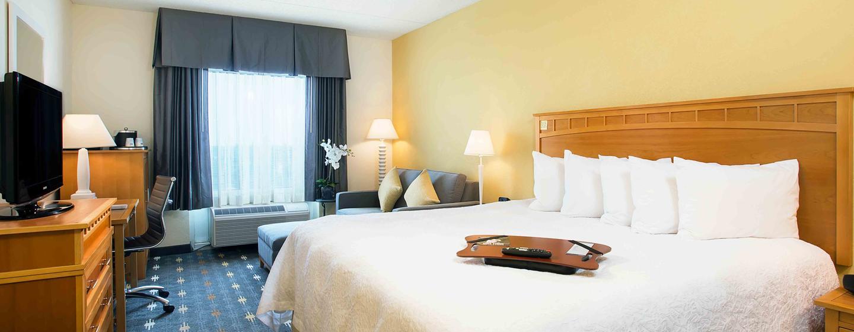 Hotel Hampton Inn Hallandale Beach-Aventura, Flórida - Studio com cama king-size