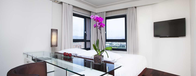 Hôtel Hilton Florence Metropole, Italie - Chambre d'angle avec vue sur la ville