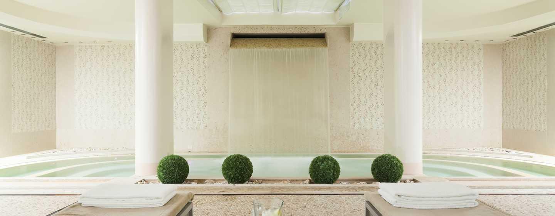 Hilton Florence Metropole Hotel, Italien – Whirlpool und Entspannungsbereich