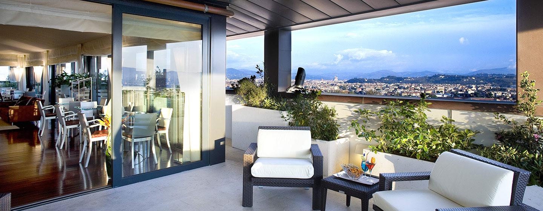 Hotel Hilton Florence Metropole, Italia - Terrazza dell'Executive Lounge