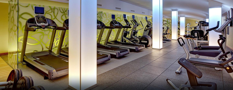 Trainieren Sie auch auf Reisen im Fitness Center des Hotels