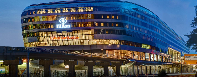 Das Hilton Frankfurt Airport heißt Sie am Flughafen in Frankfurt willkommen