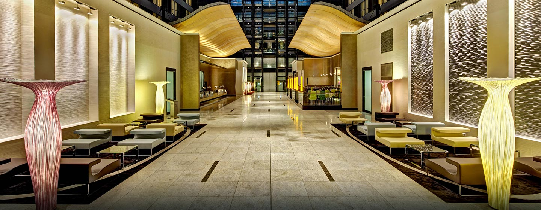 Die Lobby begeistert unsere Gäste mit individuellem Design