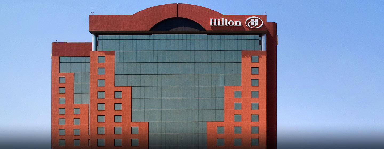 Hilton Guadalajara, Jalisco, México - Fachada del hotel