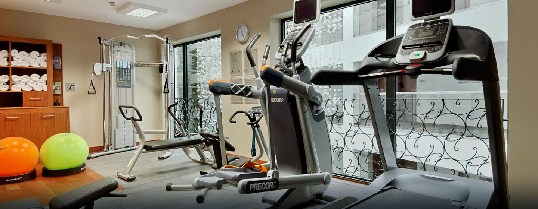Hotel Hilton Gdańsk, Polska - Centrum fitness