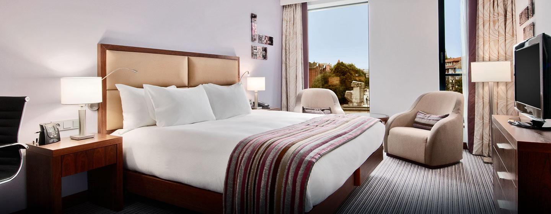 Hilton Gdansk, Polen - Hilton King gjesterom