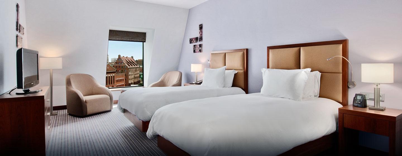 Hilton Gdansk, Polen - Hilton Deluxe-rom med to enkeltsenger