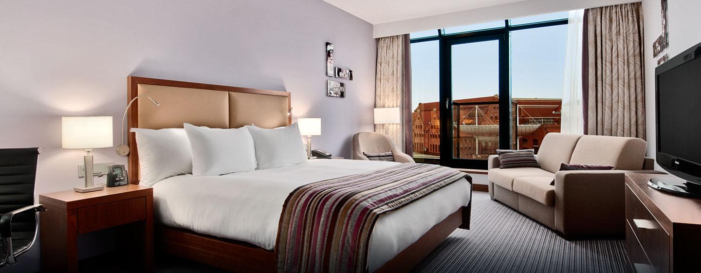 Hotel Hilton Gdańsk, Polska - Pokój King Hilton Deluxe