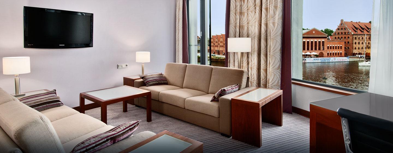 Hilton Gdansk, Polen - King Hilton Suite