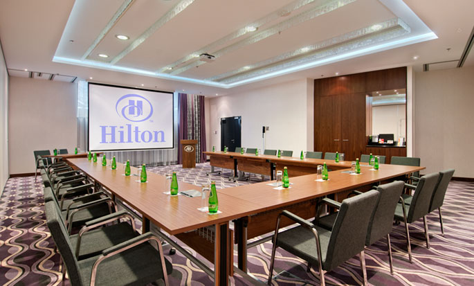Hilton Gdansk, Polen - styrerom