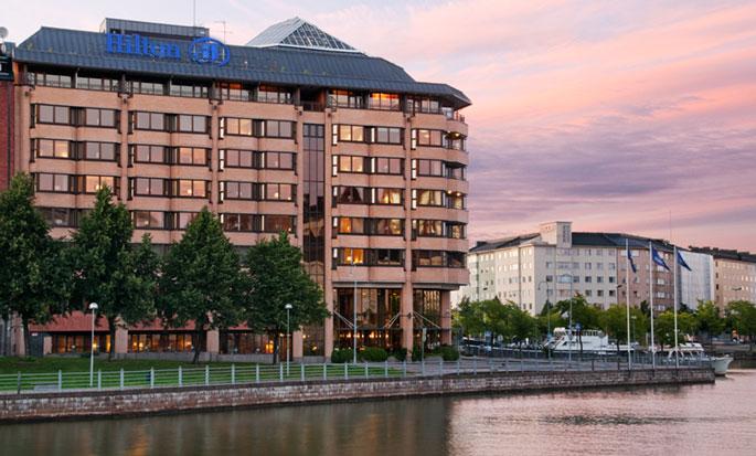 Hilton Helsinki Strand -hotelli, Suomi – hotelli ulkopuolelta