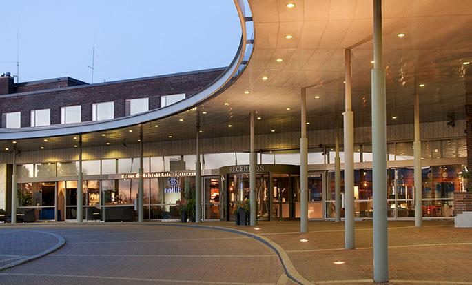 Hilton Helsinki Kalastajatorppa Hotel, Finnland– Außenbereich des Hotels