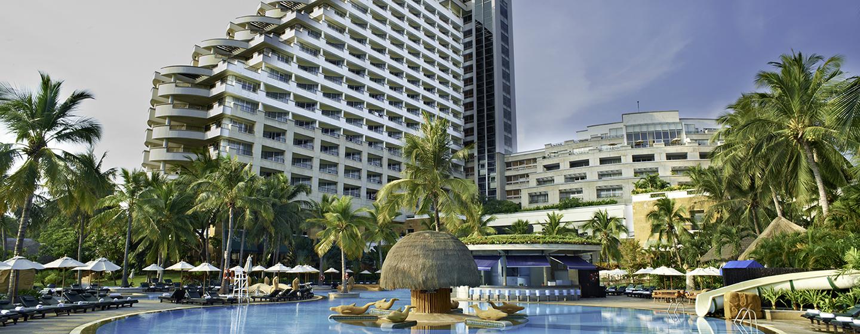 Hilton Hua Hin Resort& Spa, Thailand – Außenbereich des Hotels