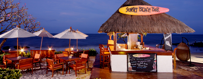 Hilton Hua Hin Resort& Spa, Thailand – Sunset Beach Bar