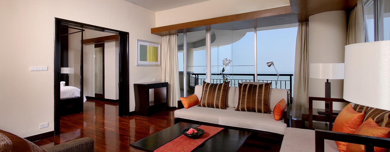 Hilton Hua Hin Resort& Spa, Thailand– Executive Suite mit zwei Einzelbetten
