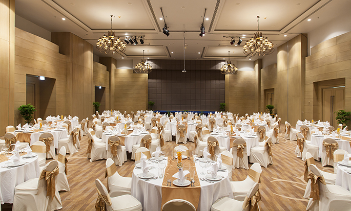 Hilton Hua Hin Resort & Spa, Thailand – Bankett im Ballsaal
