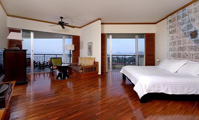Hilton Hua Hin Resort& Spa, Thailand – Zimmer mit King-Size-Bett