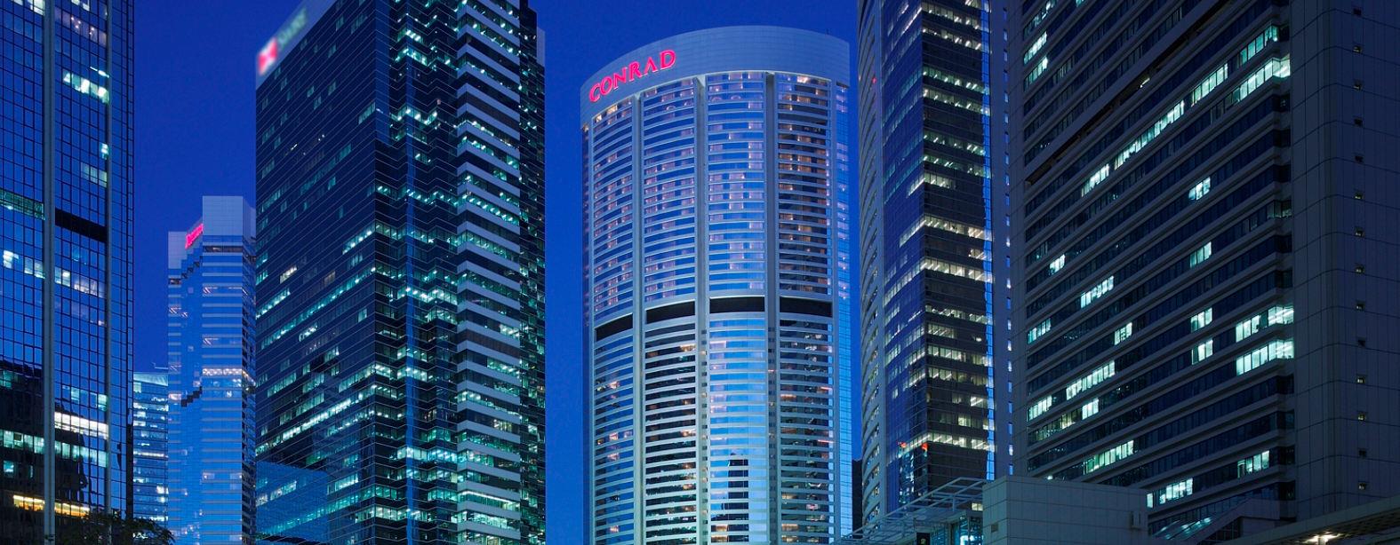 Gern heißen wir Sie in unserem modernen Gebäude am Pacific Palace in Hong Kong willkommen