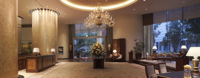 Unsere Gäste werden in der prungvollen Lobby empfangen