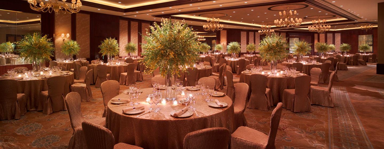 Laden Sie bis zu 1.000 Gäste auf Ihre Veranstaltung im Conrad Hong Kong ein