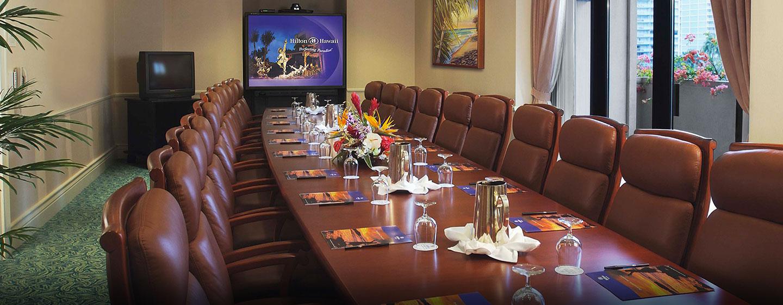 Hôtel Hilton Hawaiian Village Waikiki Beach Resort, États-Unis - Salle de conférence Ilima