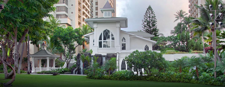 Hôtel Hilton Hawaiian Village Waikiki Beach Resort, États-Unis - Chapelle de mariage