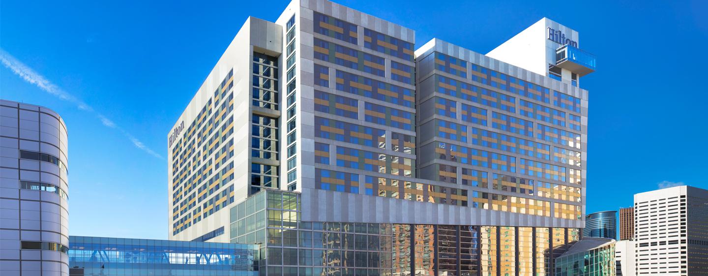 Hilton Americas - Houston, Texas, EUA - exterior do hotel