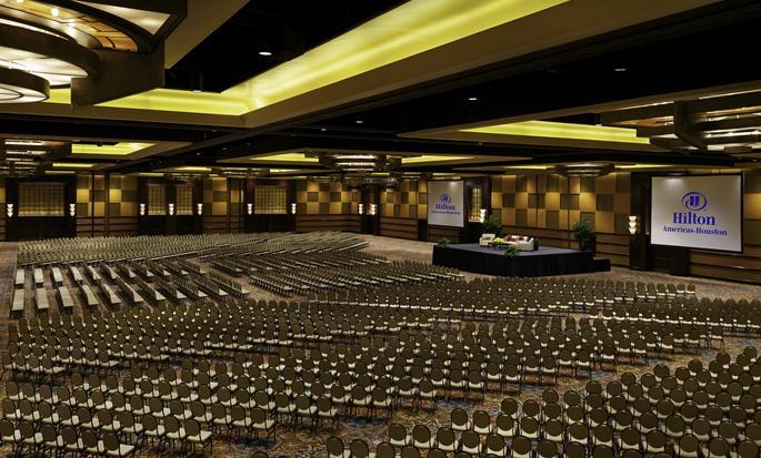 Hôtel Hilton Americas-Houston, Texas, États-Unis - Salle de réception Grand Ballroom