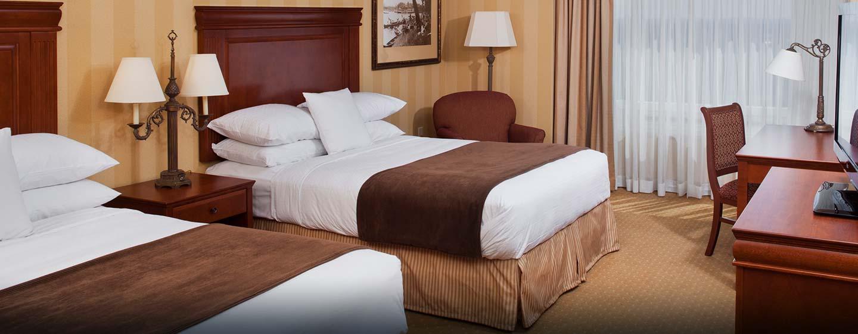 Hôtel Doubletree Fallsview Resort and Spa Niagara Falls, Canada - Chambre avec deux grands lits