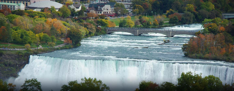 Hôtel Doubletree Fallsview Resort and Spa Niagara Falls, Canada - Vue sur les chutes