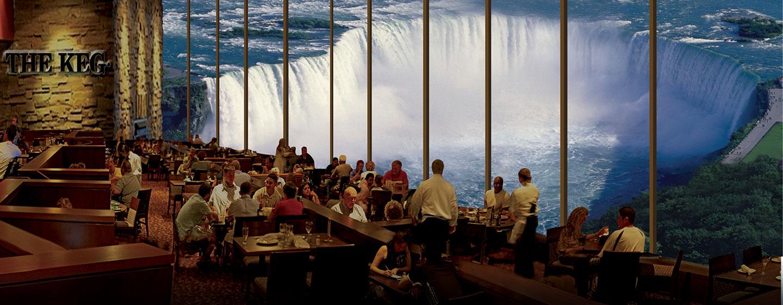 Hôtel Embassy Suites by Hilton Niagara Falls - Fallswiew, Canada - Restaurant-bar Le Keg