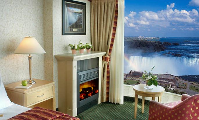 Hôtel Embassy Suites Niagara Falls - Fallsview, ON, Canada - Vue depuis une chambre