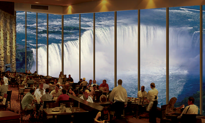 Hôtel Embassy Suites Niagara Falls - Fallsview, ON, Canada - Restaurant Le Keg