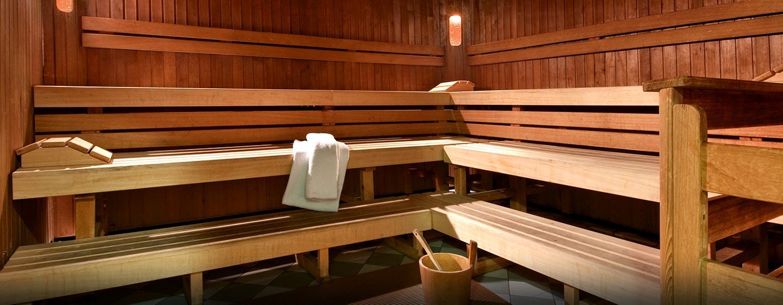 Entspannen Sie bei einem Saunagang
