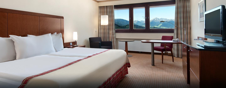 Genießen Sie den Schlafkomfort auf den gemütlichen Betten im Hotel
